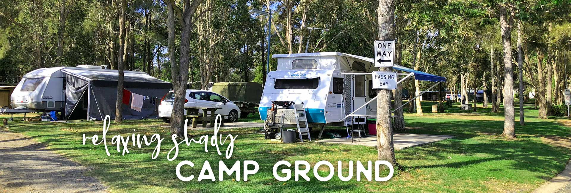 camp grounds at weeroona